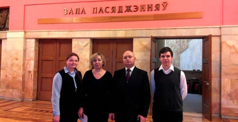 Визит в Палату представителей Национального собрания Республики Беларусь