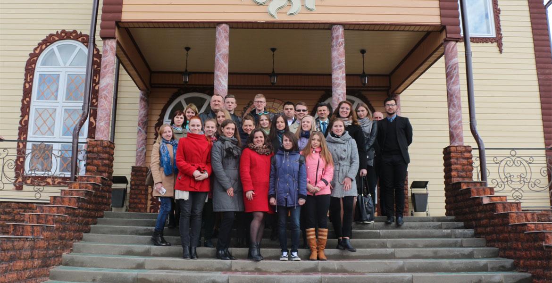 Профориентационная встреча со школьниками г.п.Круглое