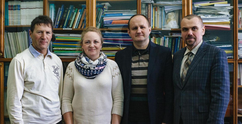 Встреча с научным сотрудником университета г.Пардубице, доктором Яном Чапеком