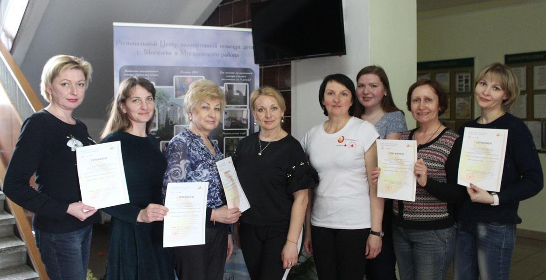 Приняли участие в практическом семинаре «Кинестетикс»