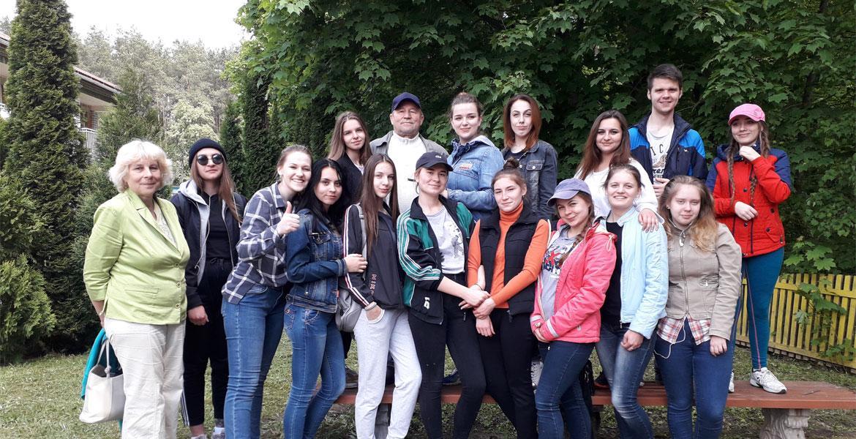 Студенты приняли участие в уборке территории агробиостанции «Любуж»