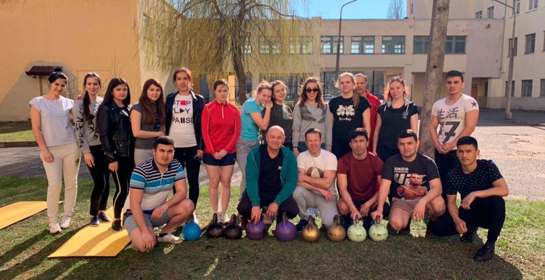 На базе МГУ имени А.А.Кулешова прошли открытые соревнования курса ПСМ факультета физического воспитания